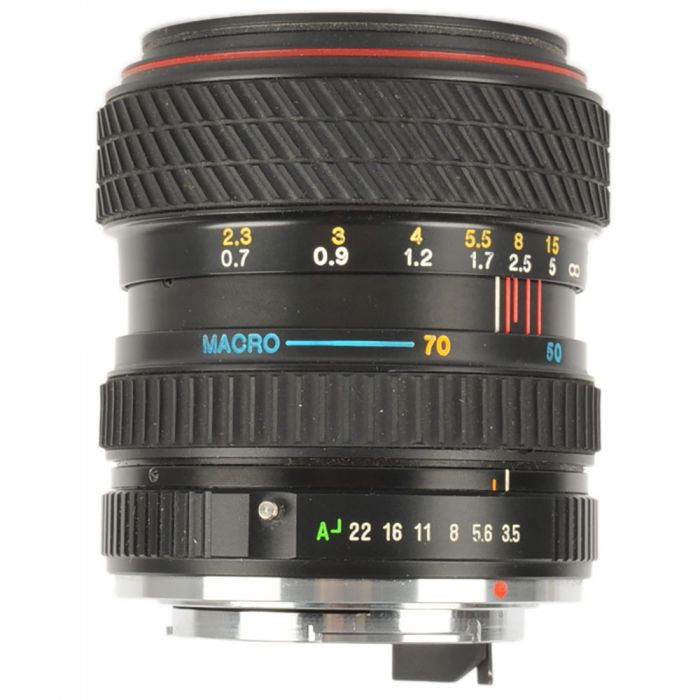 Tokina 28-70mm F/3.5-4.5 SD Macro 2-Touch Manual Focus Lens For Pentax K Mount {52}