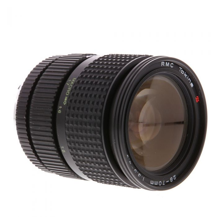 Tokina 28-70mm F/3.5-4.5 RMC Macro 2-Touch Manual Focus Lens For Pentax K Mount {62}