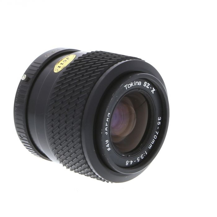 Tokina 35-70mm F/3.5-4.8 SZ-X A Manual Focus Lens For Pentax K Mount {49}