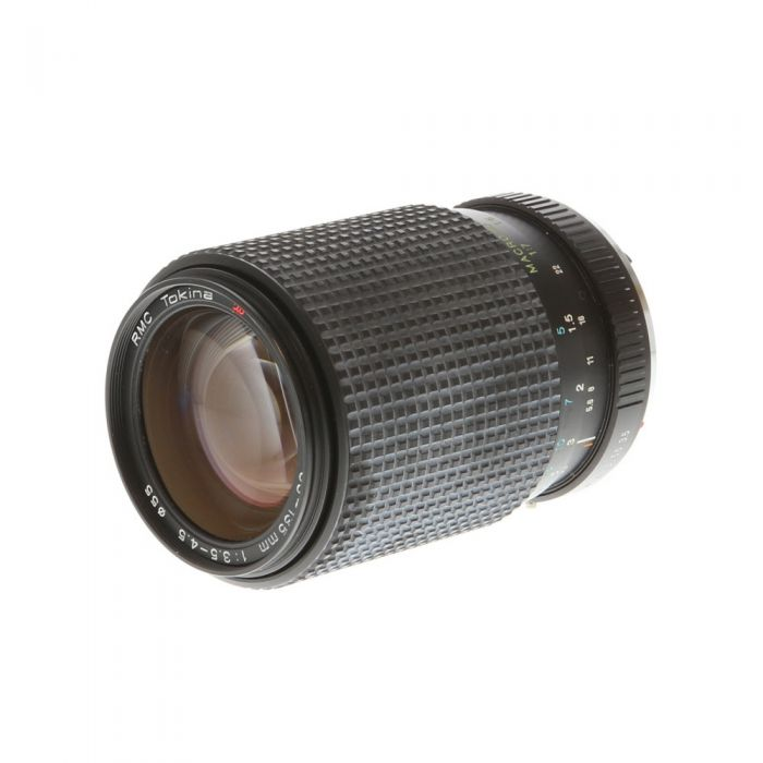 Tokina 35-135mm F/3.5-4.5 RMC Macro Manual Focus Lens For Pentax K Mount {55}