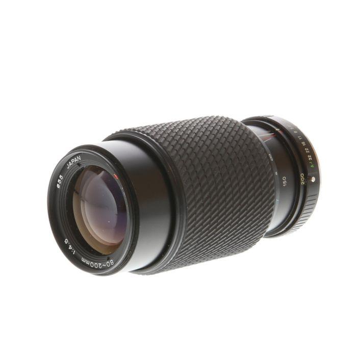 Tokina 80-200mm F/4.5 Macro Manual Focus Lens For Pentax K Mount {55}