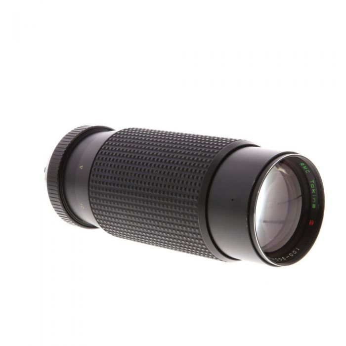 Tokina 100-300mm F/5.6 RMC Manual Focus Lens For Pentax K Mount {55}