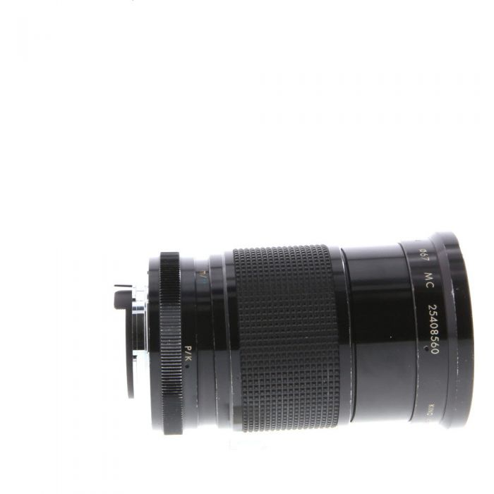 Kiron 28-85mm F/2.8-3.8 Macro Manual Focus Lens For Pentax K Mount {67}