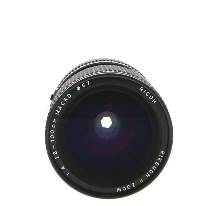 Ricoh 28-100mm F/4 Rikenon P Macro Manual Focus Lens For Pentax K Mount {67}