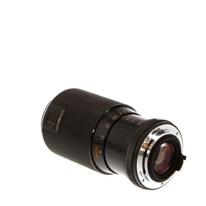 Kiron 80-200mm F/4 Macro Manual Focus Lens For Pentax K Mount {55}