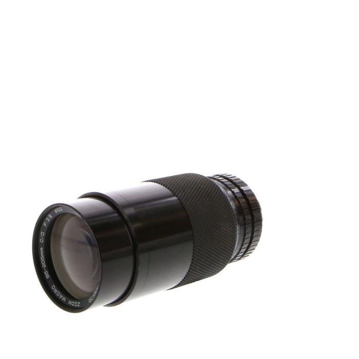 Soligor 85-205mm F/3.8 Manual Focus Lens For Pentax K Mount {62}