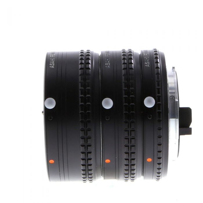 Pentax Auto Extension Tube Set 1,2,3 (#30535), for Pentax K Mount