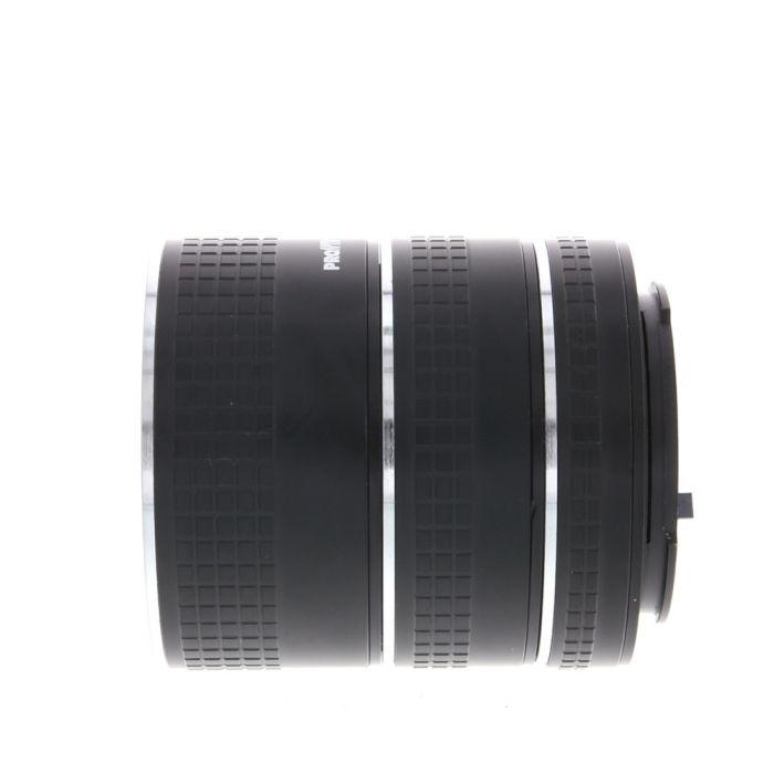 Miscellaneous Brand Auto Extension Tube Set 13,21,31mm, for Pentax K Mount