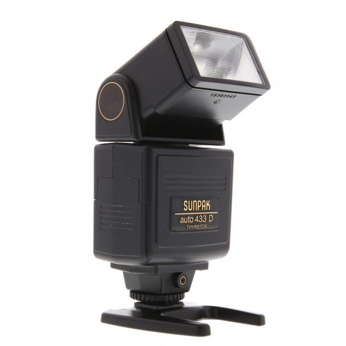 Sunpak 433D Dedicated Flash For Pentax [GN120] {Bounce, Swivel}