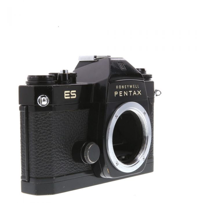 Pentax ES (Honeywell) M42 Mount 35mm Camera Body, Black