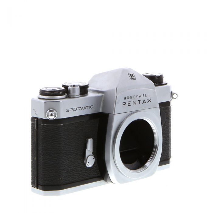Pentax Spotmatic (Honeywell) M42 Mount 35mm Camera Body, Chrome