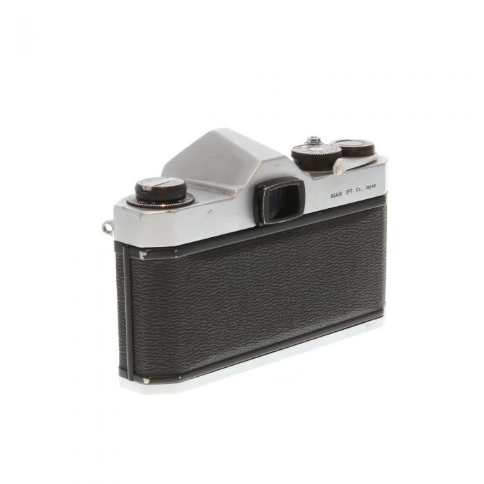 Pentax Spotmatic MD (Honeywell) M42 Mount 35mm Camera Body, Chrome