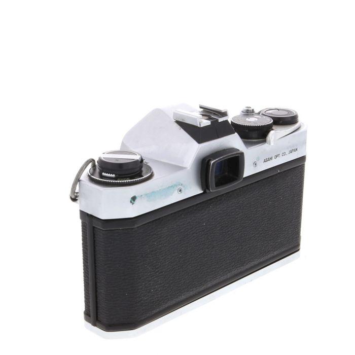 Pentax Spotmatic SP II (Asahi) M42 Mount 35mm Camera Body, Chrome