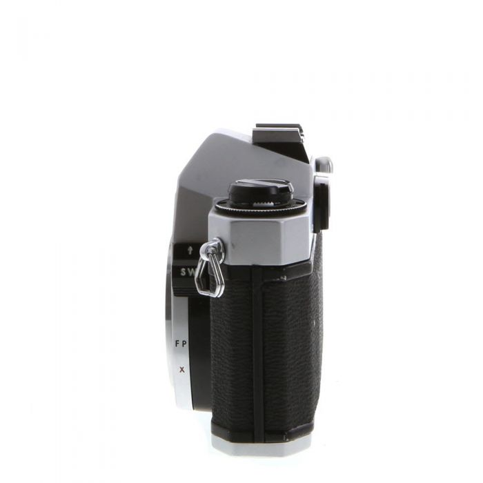 Pentax Spotmatic SP II (Honeywell) M42 Mount 35mm Camera Body, Chrome