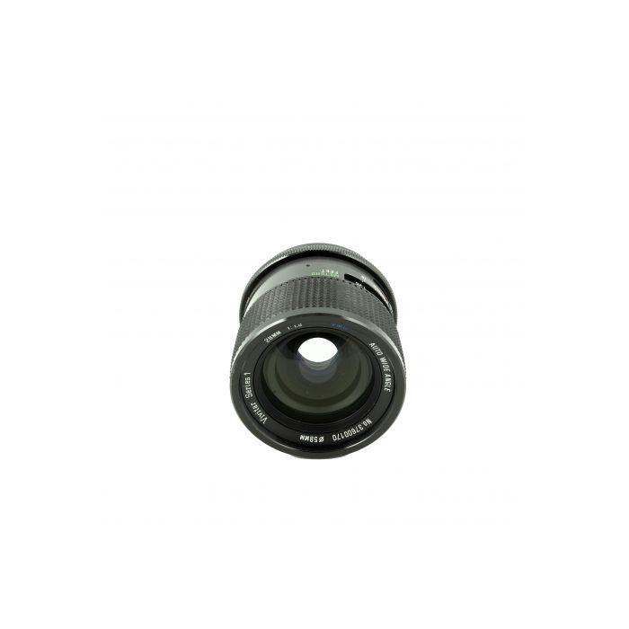 Vivitar 28mm F/1.9 Series 1 VMC M42 Screw Mount Manual Focus Lens {58}