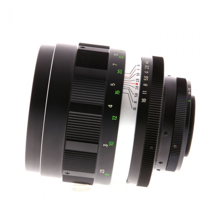 Spiratone 135mm F/1.8 YS Auto with T-Mount Adapter for M42 Screw Mount Manual Focus Lens {82}