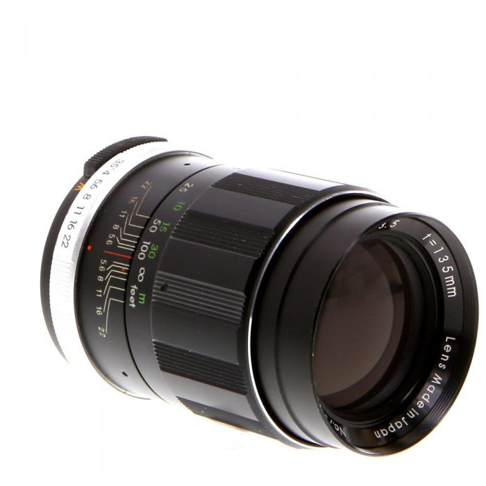 Miscellaneous Brand 135mm F/3.5 Auto M42 Screw Mount Manual Focus Lens {52}