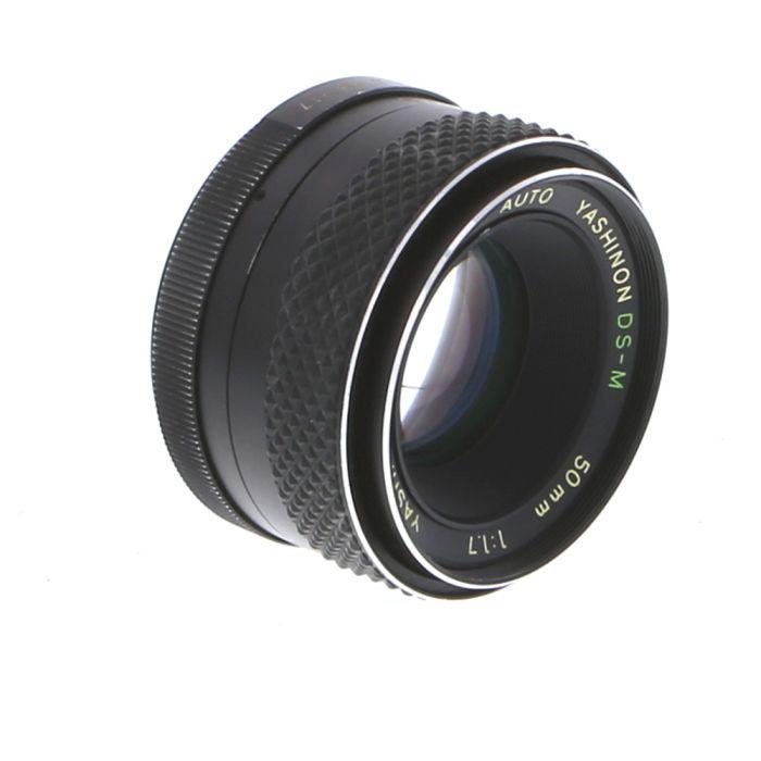 Yashica 50mm f/1.7 Yashinon-DS-M Auto M42 Screw Mount Lens {52}
