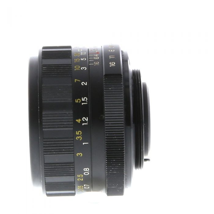 Yashica 50mm f/1.7 Yashinon-DS Auto M42 Screw Mount Lens {52}
