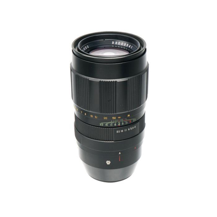 Vologda 200mm F/4 Jupiter 21M Auto Black M42 Screw Mount Manual Focus Lens {60}