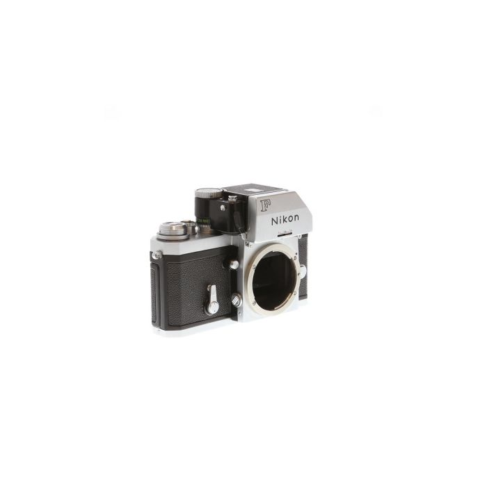 Nikon F Photomic FTN 35mm Camera Body, Chrome