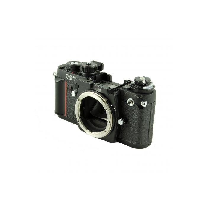 Nikon F3/T 35mm Camera Body, Black, Without Prism Finder