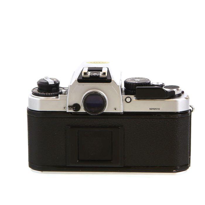 Nikon FA 35mm Camera Body, Chrome