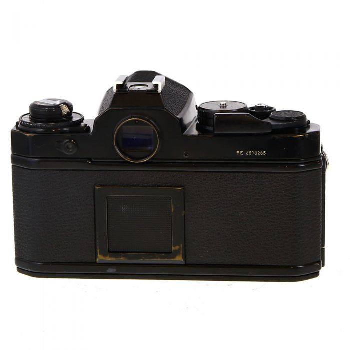 Nikon FE 35mm Camera Body, Black