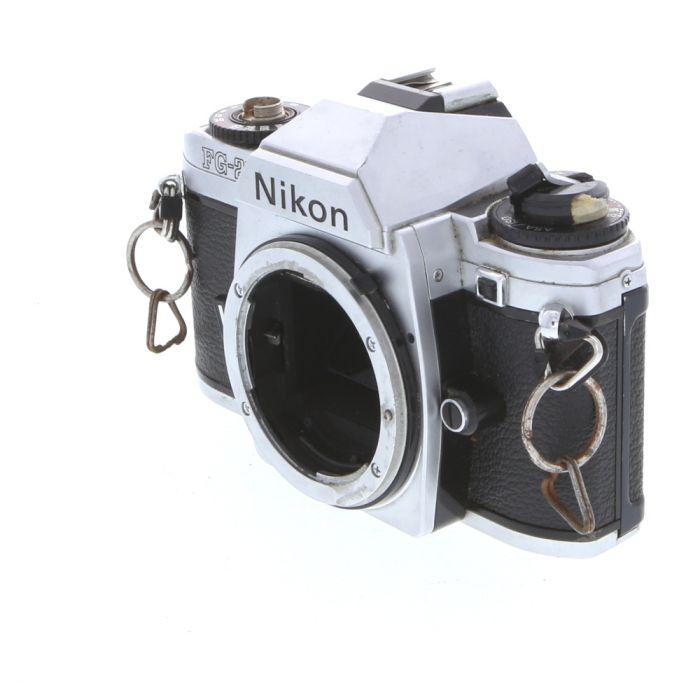 Nikon FG-20 35mm Camera Body, Chrome