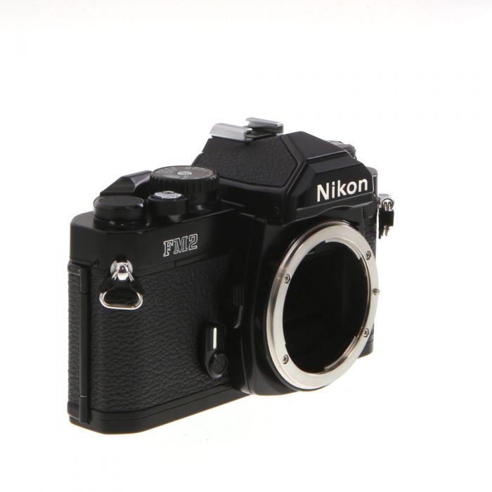 Nikon FM2N 35mm Camera Body, Black