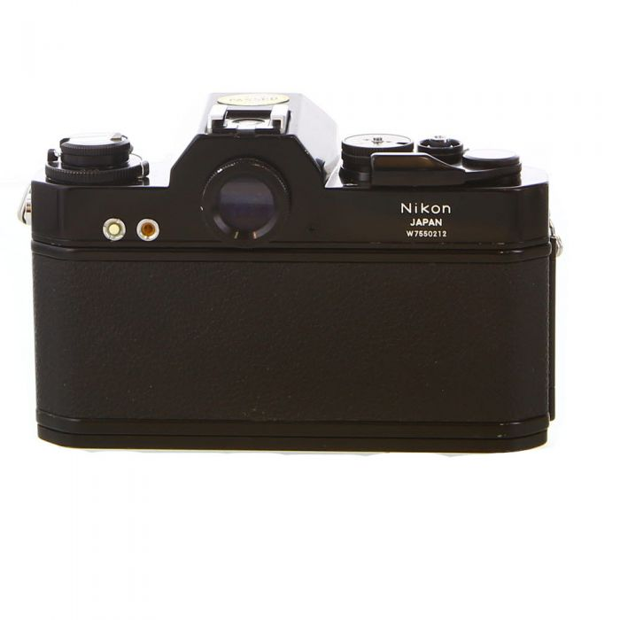 Nikon Nikkormat EL (Non AI) 35mm Camera Body, Black
