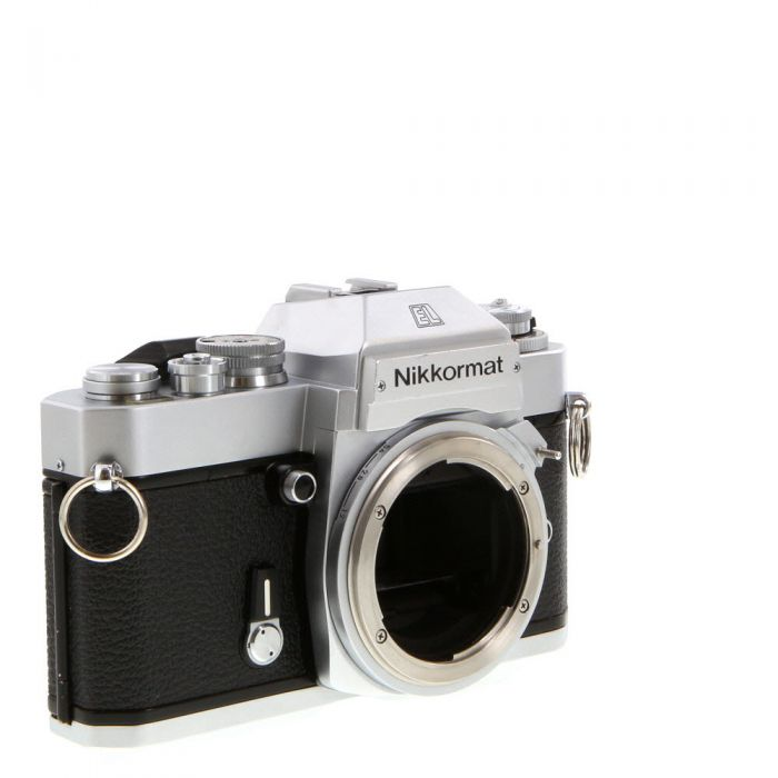 Nikon Nikkormat EL (Non AI) 35mm Camera Body, Chrome