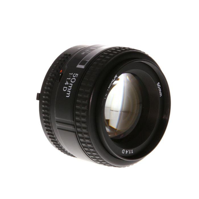 Nikon Nikkor 50mm F/1.4 D AF Lens {52}