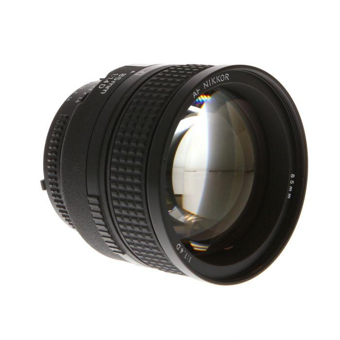 Nikon Nikkor 85mm f/1.4 D IF Autofocus Lens {77}