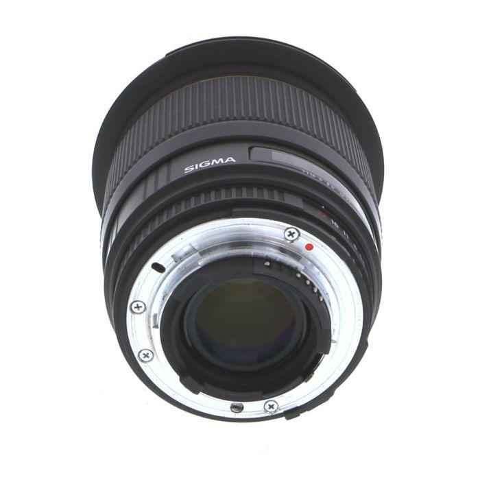 Sigma 20mm F/1.8 Aspherical DG EX 5-Pin Autofocus Lens For Nikon {82}