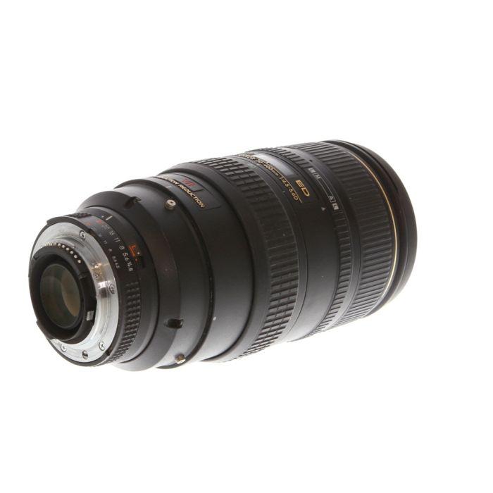 Nikon Nikkor 80-400mm F/4.5-5.6 D ED VR AF Lens {77}