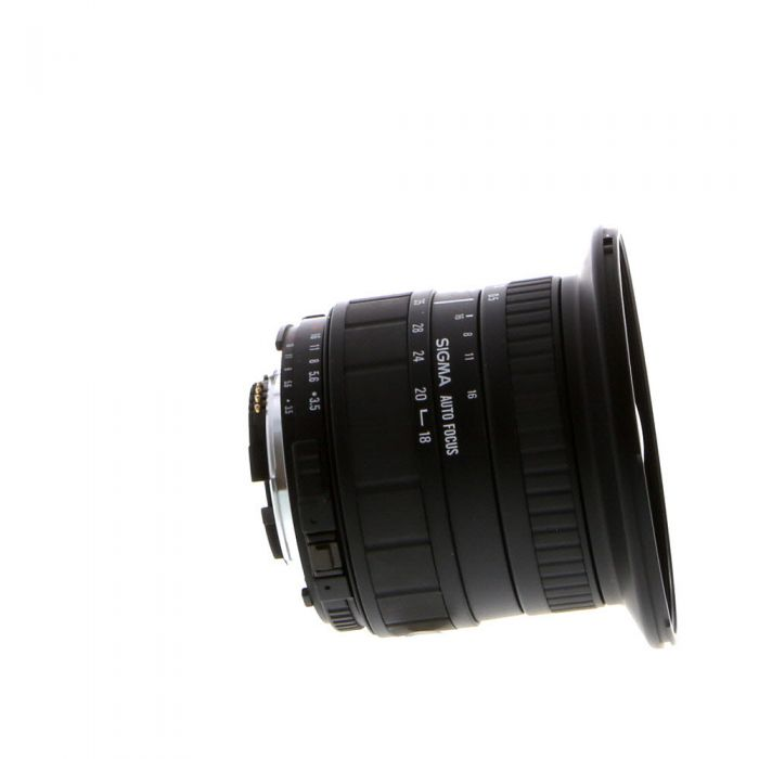 Sigma 18-35mm F/3.5-4.5 Aspherical D Autofocus Lens For Nikon {82}