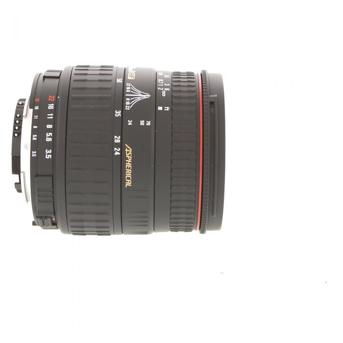 Sigma 24-70mm F/3.5-5.6 Aspherical D HF Autofocus Lens For Nikon {62}