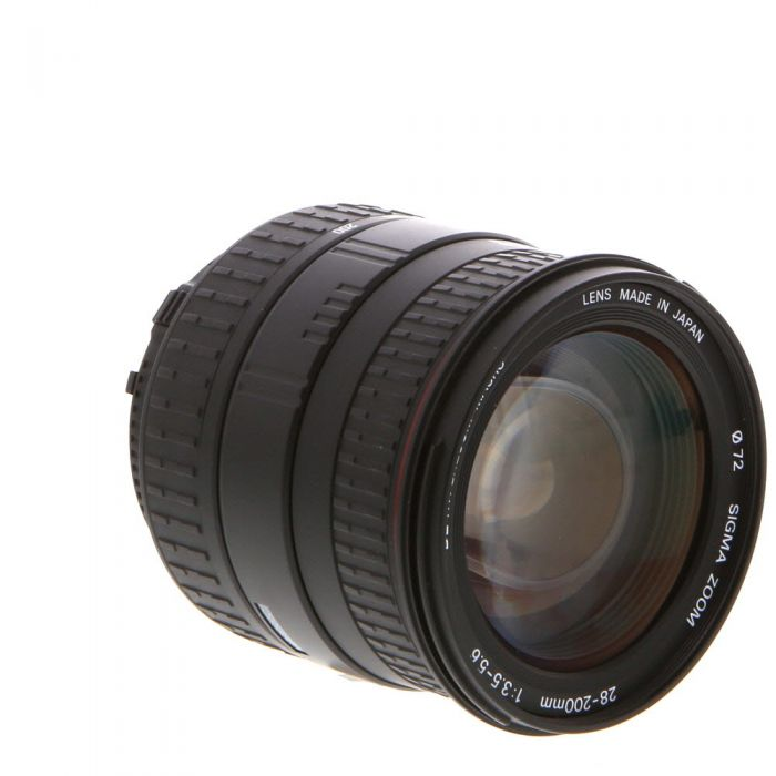 Sigma 28-200mm F/3.5-5.6 Aspherical Macro D DL IF Hyperzoom Black Autofocus Lens For Nikon {72}