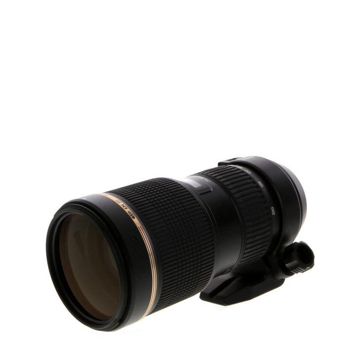 Tamron SP 70-200mm F/2.8 DI LD IF Macro (A001NII) 8-Pin Autofocus Lens For Nikon {77} With Tripod Collar