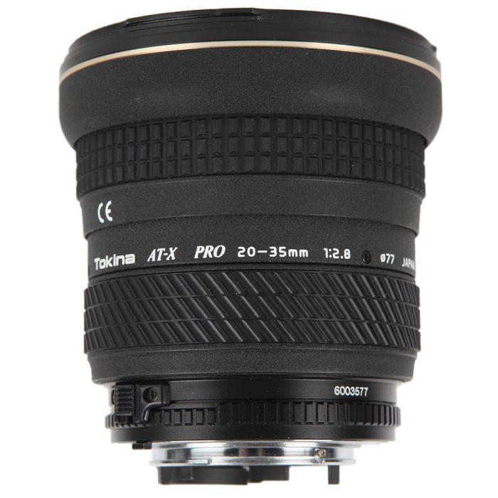 Tokina AT-X 20-35mm F/2.8 F&R Aspherical Pro Autofocus Lens For Nikon {77}