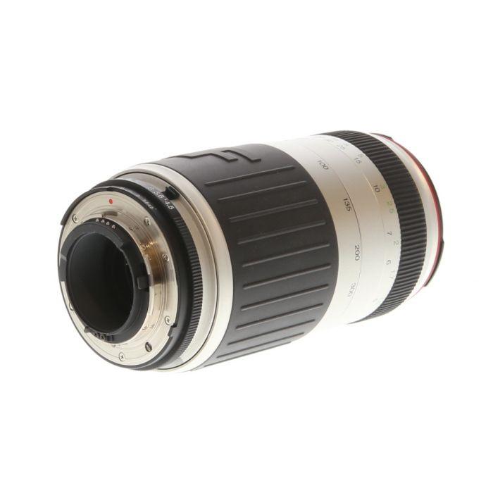 Vivitar 70-300mm F/4.5-5.6 Series 1 White Autofocus Lens For Nikon {62}