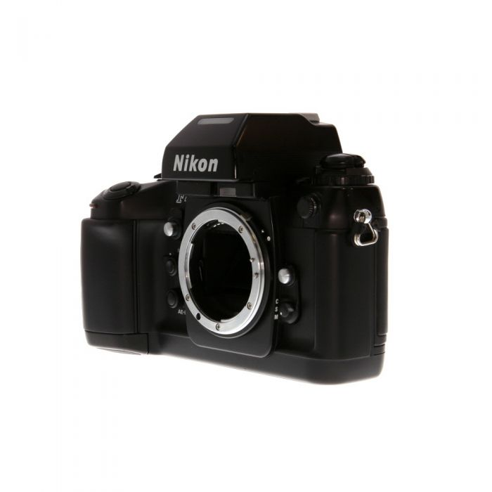 Nikon F4 (F4 Body with MB-20 Battery Pack) 35mm Camera Body (Requires 4x AA)