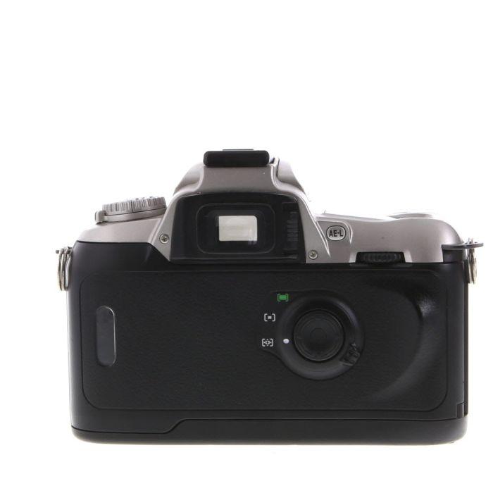 Film Photography Camera & Photo Silver / Black NIKON N75QD 35MM ...