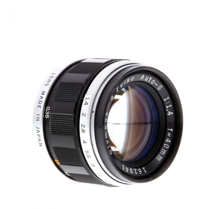 Olympus 40mm F/1.4 FT Lens For Olympus PEN Film Cameras {43}