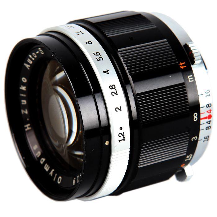 Olympus 42mm F/1.2 FT Lens For Olympus PEN Film Cameras {49}