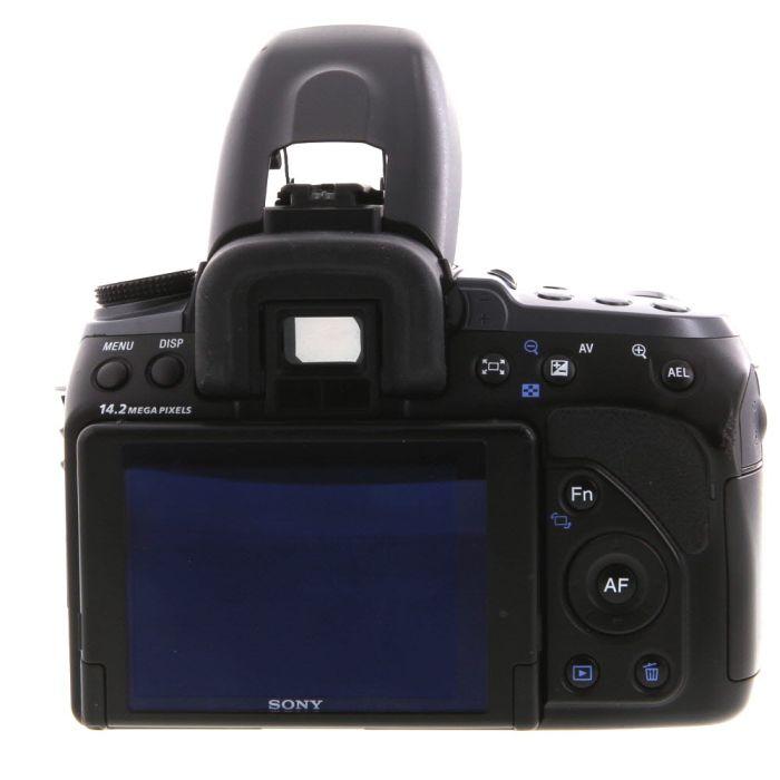 Sony Alpha A550 Digital SLR Camera Body, Black {14.2MP}