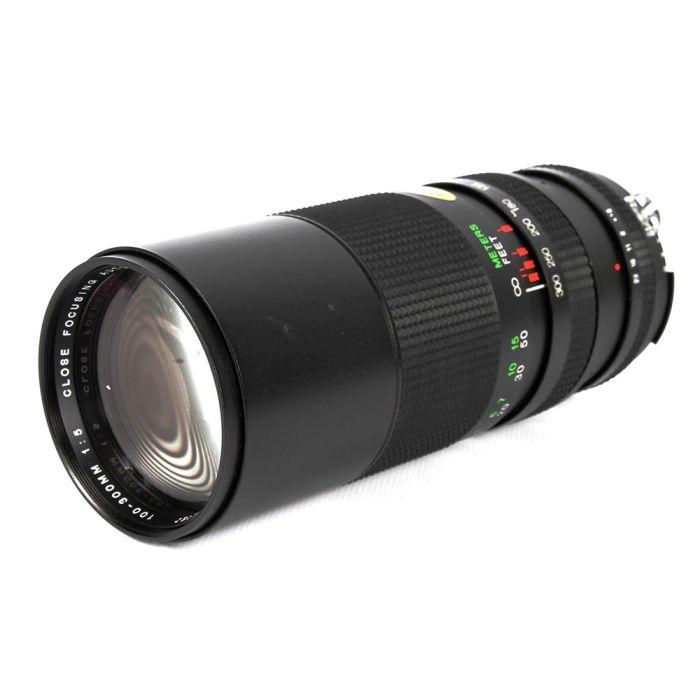 Vivitar 100-300mm f/5 Macro AI Manual Focus Lens for Nikon {62}