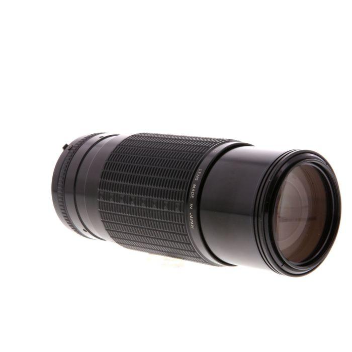 Sigma 75-250mm F/4.5 AIS Manual Focus Lens For Nikon {52}