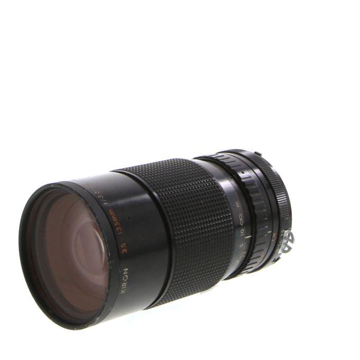 Kiron 35-135mm F/3.5-4.5 AI Macro Manual Focus Lens For Nikon {62}